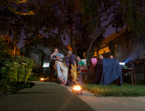 The best outdoor video projector setup for your summer movie experience