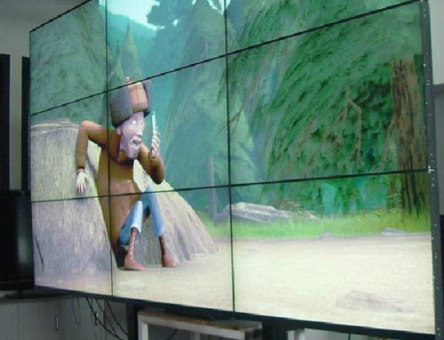You won't believe how huge your presentations will be on this video wall screen